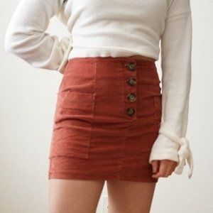 * Urban Outfitters BDG Rust Button Down Mini